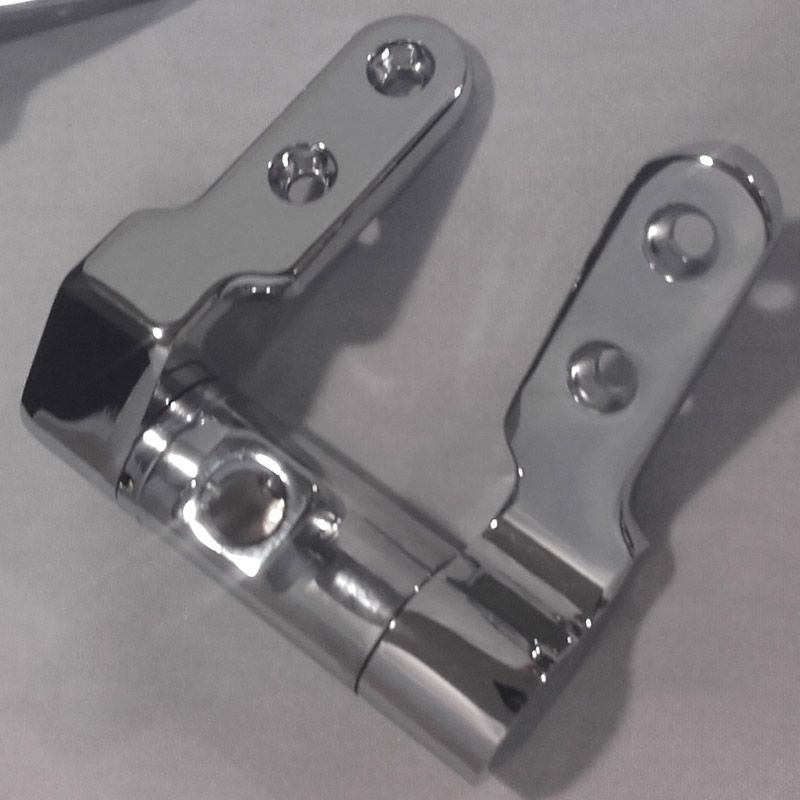 Bauhaus Modest Replacement Toilet Seat Hinge Pack Complete